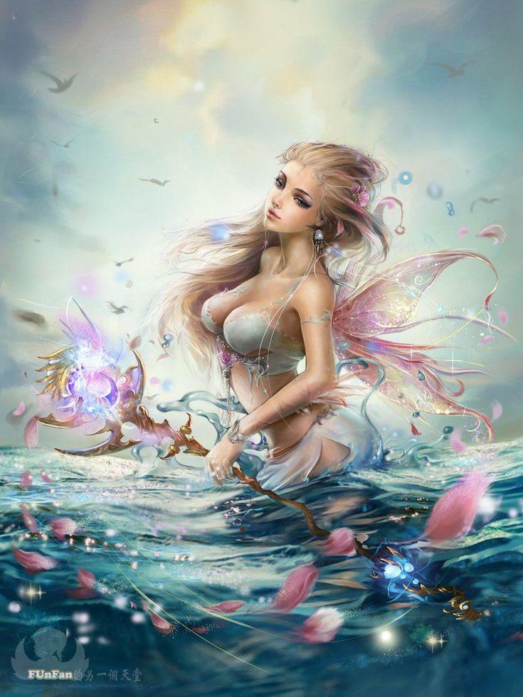 beautiful fantasy mermaid - Cerca con Google