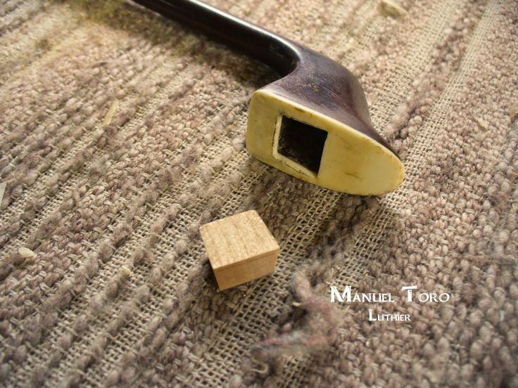 Manuel Toro Luthier: Arco de Contrabajo