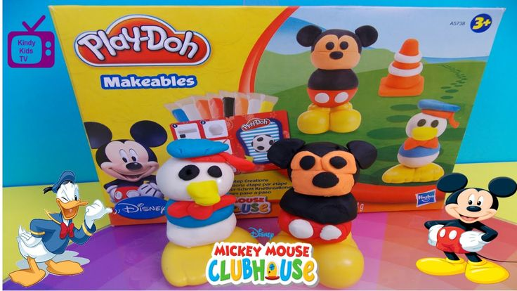 Play-Doh. Disney. Mickey Mouse. Makeables.