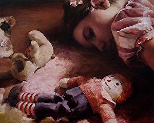 """The Fall, 16"""" x 20"""" Oil, by Stephanie Deshpande"""