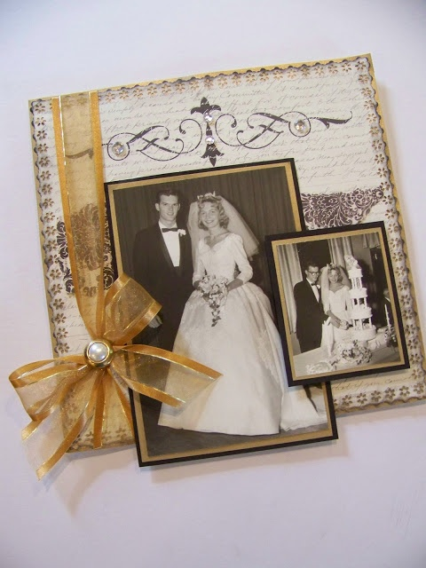 76 Best 50th Anniversary Scrapbook Ideas Images On