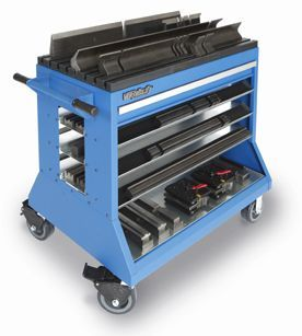 Press Brake Change-Over Cart - 5 S Lean Productivity Tool