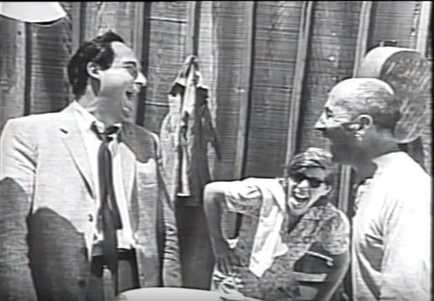 Sid Caesar With Ben Blue And Zasu Pitts
