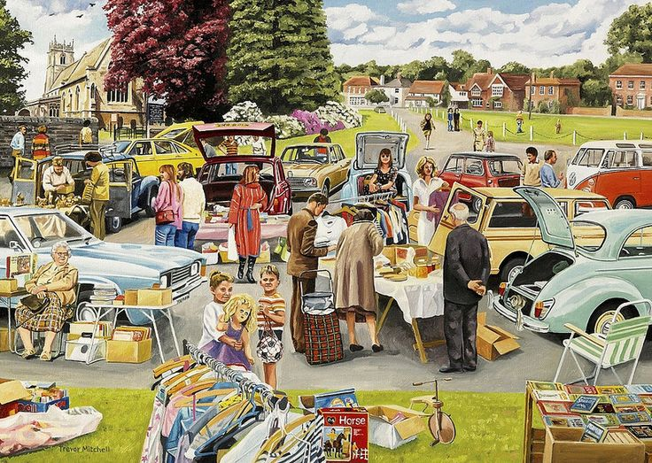 Best of British - The Church Jumble Sale