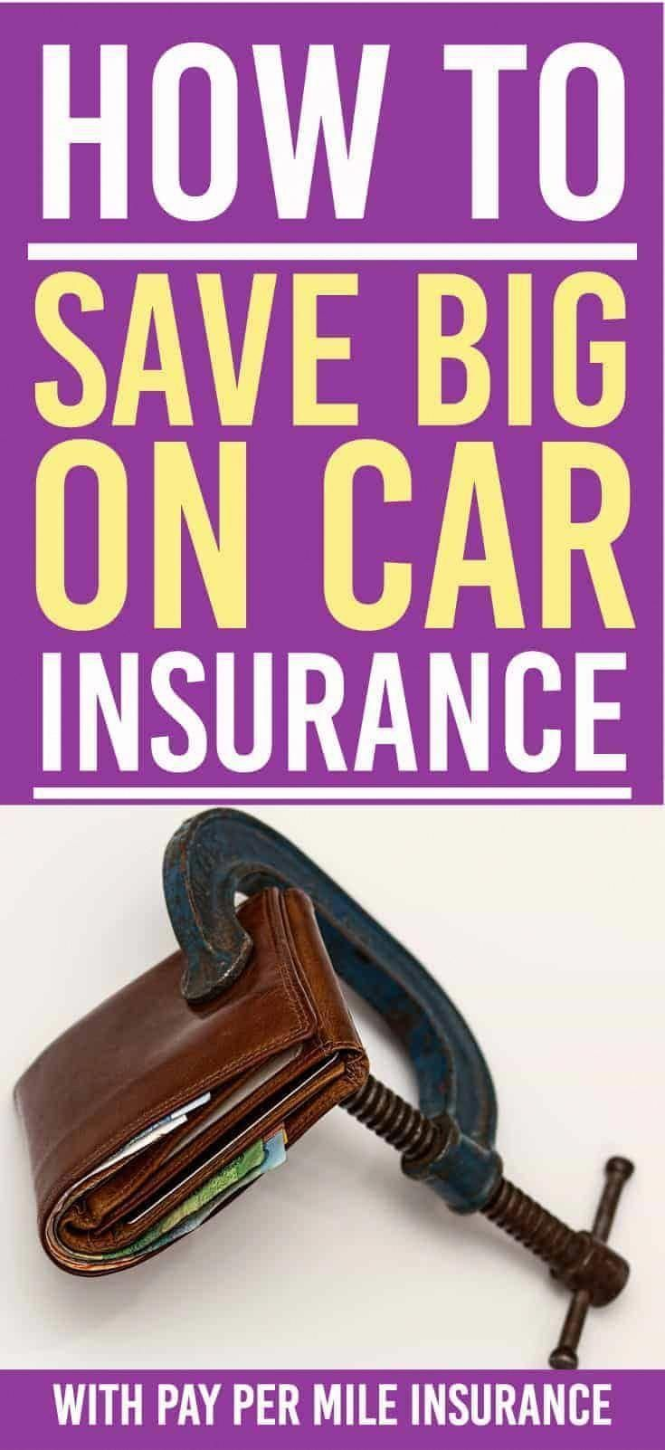 How You Can Save Big By Switching To Pay Per Mile Insurance In