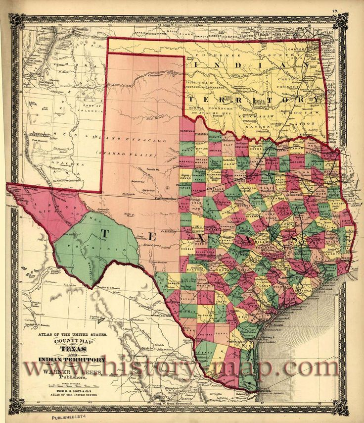Best Maps Images On Pinterest Maps Texas History And Antique - Texas state map by county
