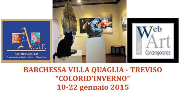 collettiva in Villa Veneta