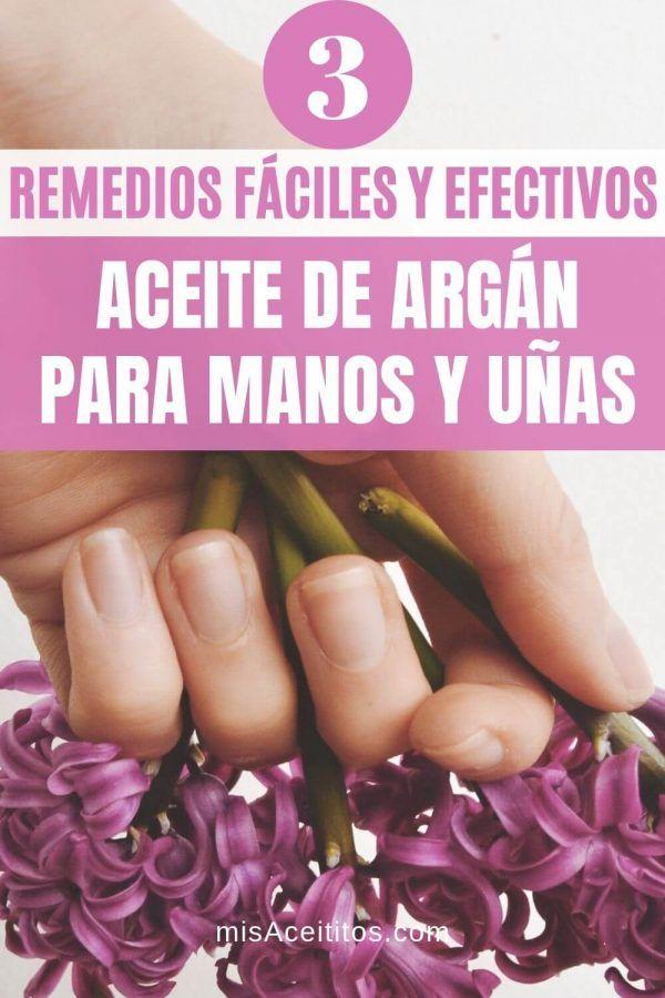 Aceite De Argán Para Manos Y Uñas 3 Remedios Fáciles Y Efectivos Aceite Argan Mascarillas Para Manos Argan