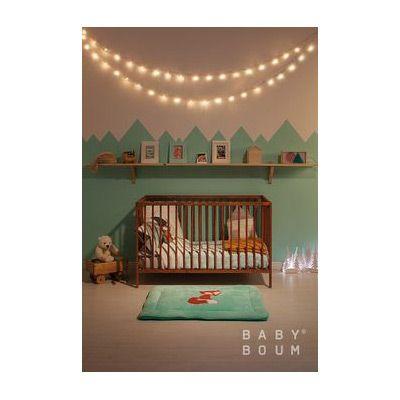 Tapis de parc Softy Crazy Renard (100 x 100 cm) - Bemini by Baby Boum