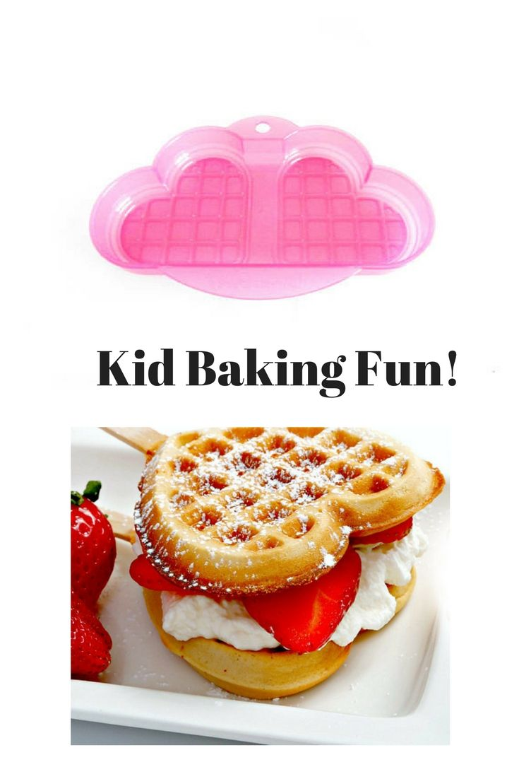 Heart Waffle Mold / Pink Microwavable Plastic Cake Mold / Kids Kitchen Baking Tool / Love Heart Breakfast Waffle Sandwich Cooking Tool, #baking, #kidsactivities, #kidsparty, #valentinesday, #etsy, #giftsidea, #ad