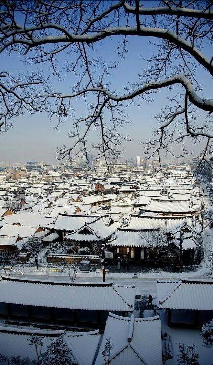 Hanok village (한옥), Jeonju, South Korea