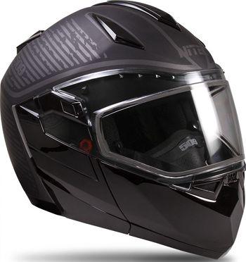 509 XERO Modular Snowmobile Helmet w/Electric Shield and Dual Lens Shield