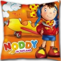 Noddy Square Shaped Cushion- Noddy The Pilot [TSSTSCNP] - ₹349.00 : Toyzstation.in, The online toys store
