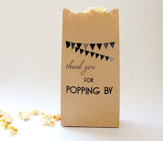 Thank you for popping by... bedankje meegeven voor onderweg naar huis..
