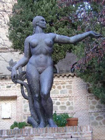 Museo Victorio Macho, jardines, Toledo.