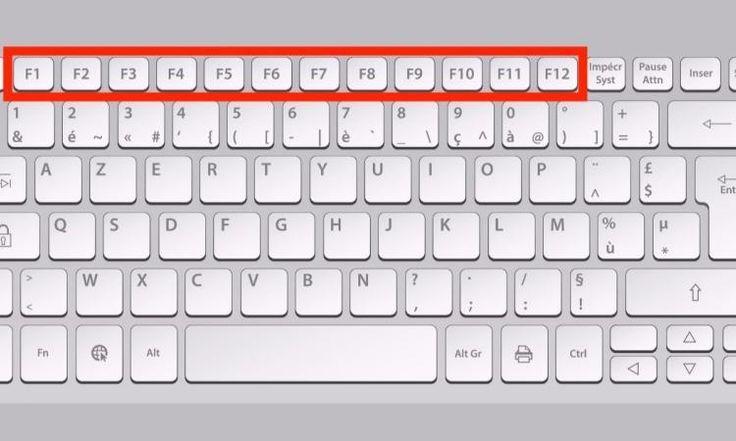 En vous servant des touches F1 à F12 sur votre clavier, voyez comment vous pouvez sauver du temps chaque jour!