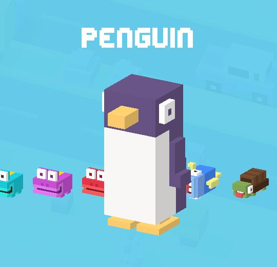 My favourite character on crossy road