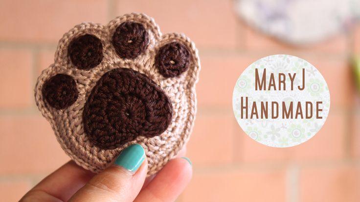 MaryJ Handmade: Paw crochet / How to crochet a paw