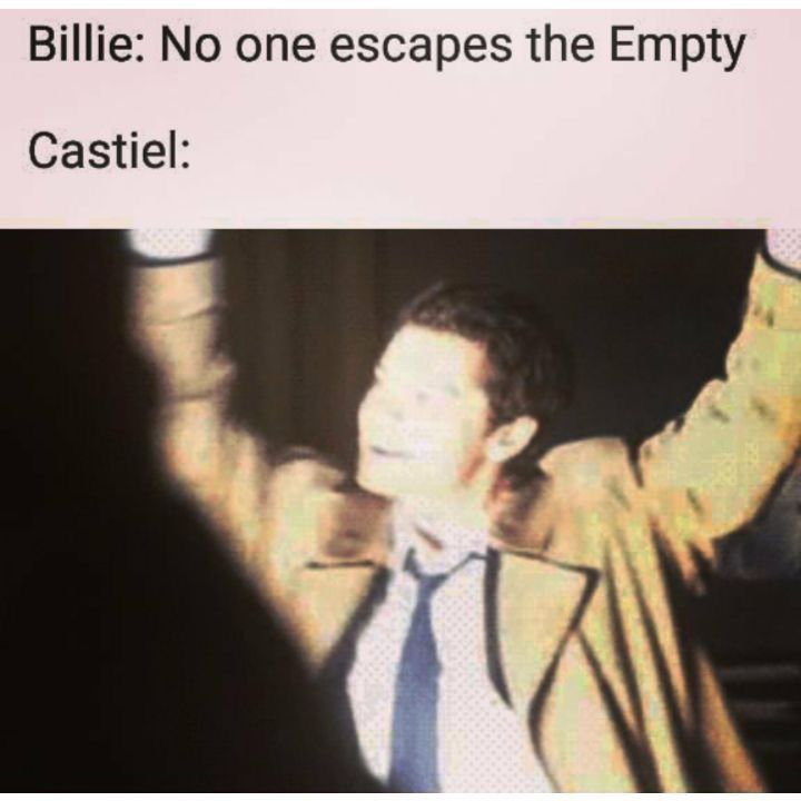 Cas' escape from The Empty