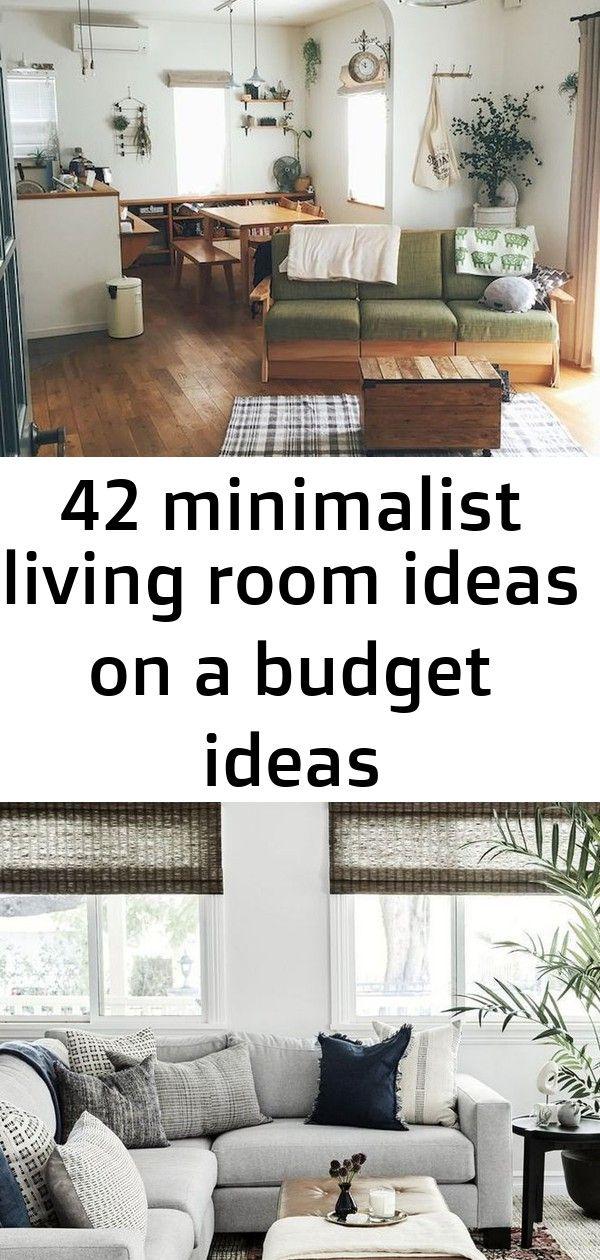 42 Minimalist Living Room Ideas On A Budget Ideas Minimalist Living Room Living Room On A Budget Minimalist Living