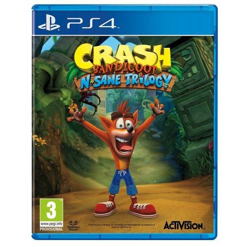 Playstation 4 Crash Bandicoot N. Sane Trilogy (PS4) PRE-ORDER