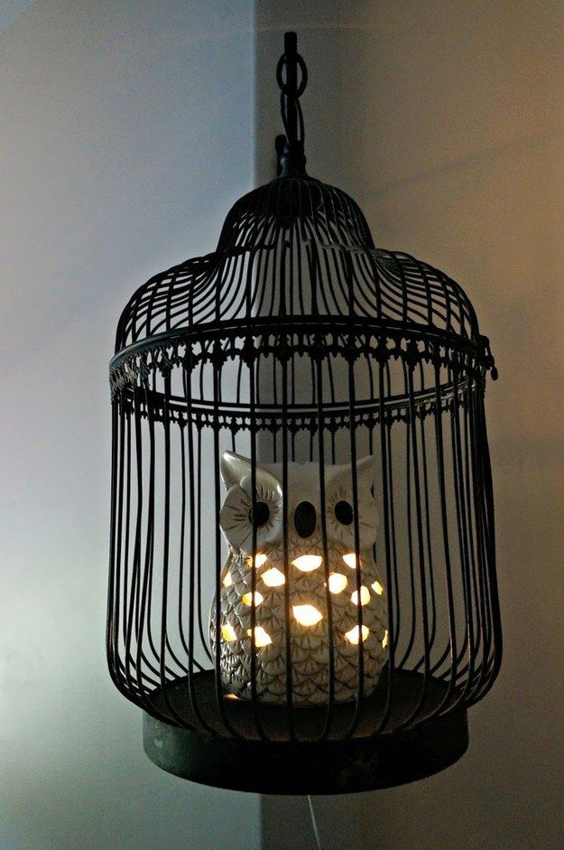 Start with this lamp. | 27 Ways To Create The Perfect Harry Potter Nursery