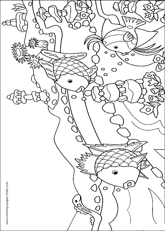 coral reef fish color page  animal coloring pages  color plate  coloring sheet printable