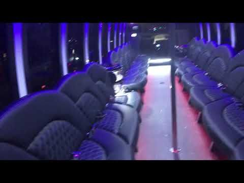 2018 white 45 passenger Freightliner Party bus Brand new for sale