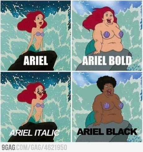 Know your fonts