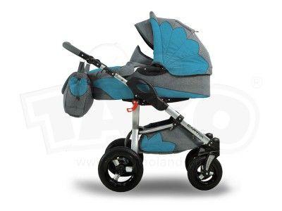 Wózek Tako Captiva Mohican 3w1 NIEBIESKI + Parasol (4614172503) - Allegro.pl - Więcej niż aukcje. Wałbrzych 1300