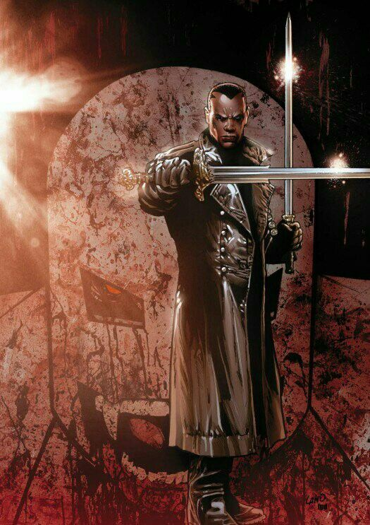 Eric Brooks Ultimate BLADE by Greg Land