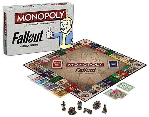 Fallout 4 funny - Fallout Monopoly - Fallout Board Game - Fallout 4 Hilarious - Fallout Gifts - Vault Boy - Fallout Meme