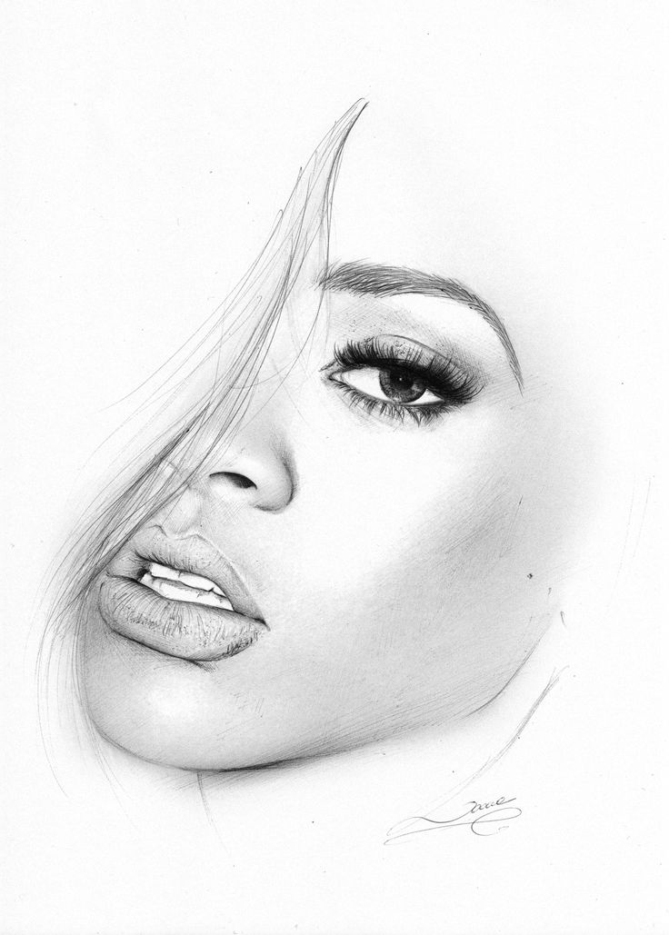 Face Drawing, Drawings, Sketches