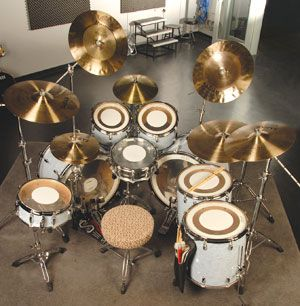 Carmine Appice's drum setup