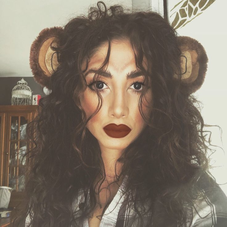 Halloween Monkey Makeup | Monkey makeup, Halloween ... - photo#9
