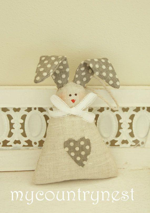 Pattern  rabbit Tippi rabbit softie patternsoftie by Mycountrynest, €7.50