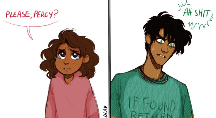 """Op said: """"Imagine actual big brother Percy with 5-year old Piper, he wouldn't be able to say no to anything if she gave him her eyes"""" Dude I love this headcanon so much Percy and Piper (completely platonic). Little Piper and big brother Percy"""