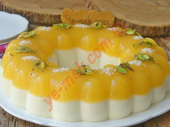 Portakallı Prenses Tacı Tatlısı Resimli Tarifi - Yemek Tarifleri