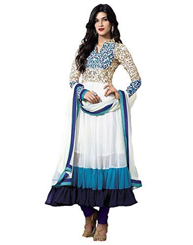 DivyaEmporio Women's White and Blue Faux Georgette Dress ... http://www.amazon.in/dp/B011OV0LNE/ref=cm_sw_r_pi_dp_-d8Dxb17F44T0