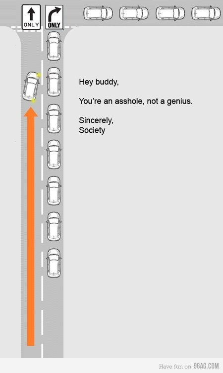 Dedicated to all the dumbass drivers out there.