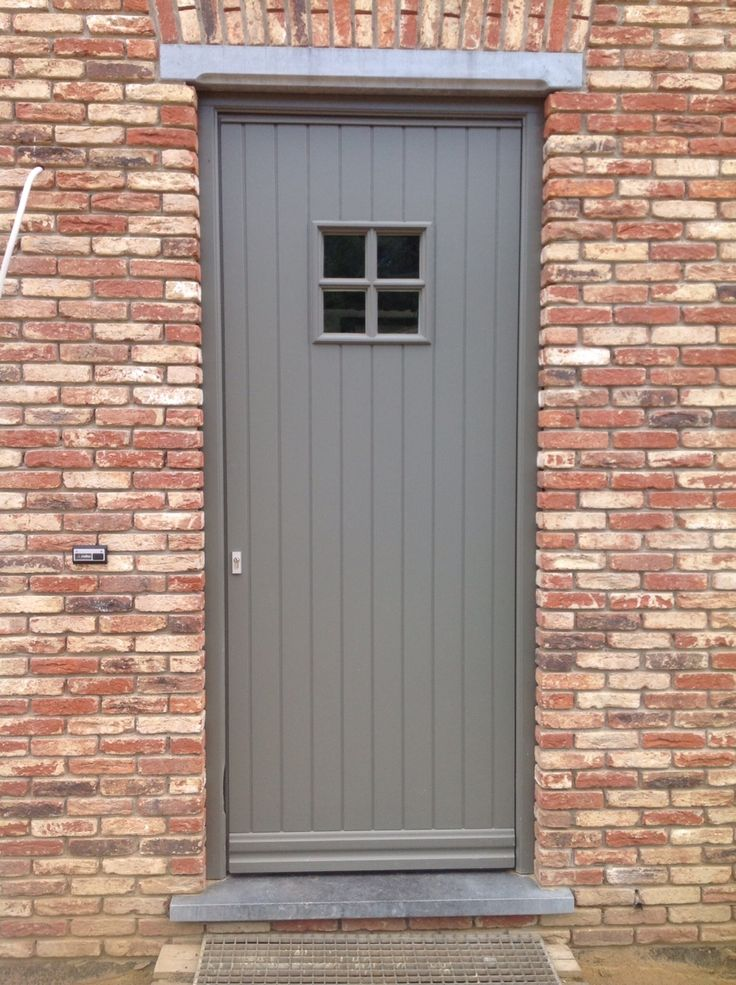 Voordeur in hout sipo in ral kleur model cottage voordeur frontdoor pinterest models - Kleur voor levende ...