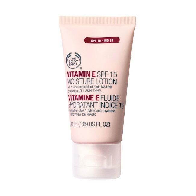 E-vitaminos nappali arckrém SPF15