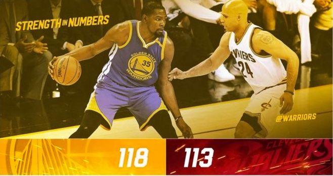 NBA Play-Offs 2017 - Final - 3er partido