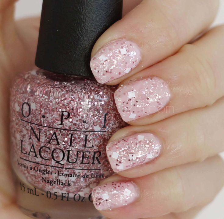 Opi Rose Gold Glitter Nail Polish