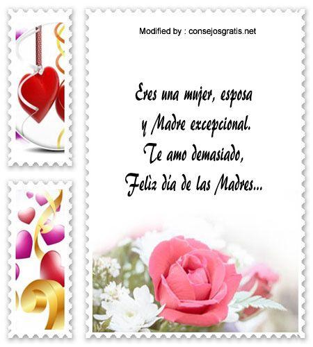 descargar frases bonitas para el dia de la Madre,descargar mensajes para el dia de la Madre: http://www.consejosgratis.net/mensajes-por-el-dia-de-la-madre-para-tu-esposa/