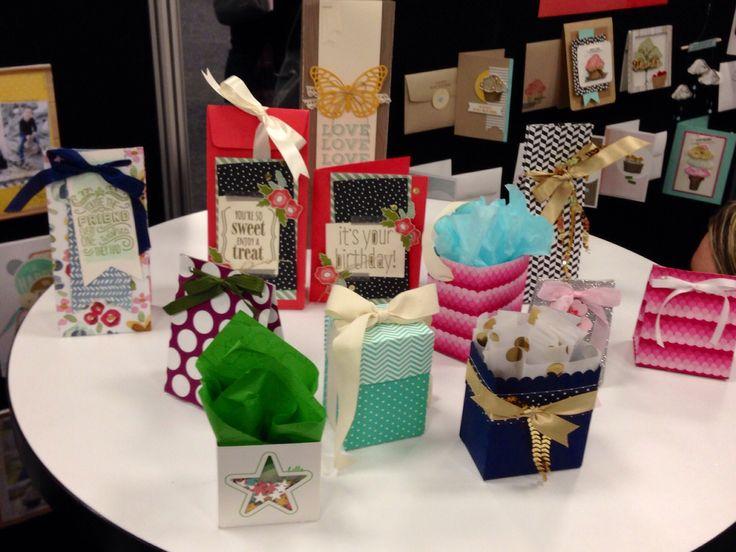 Gift Bag Punch Board Samples