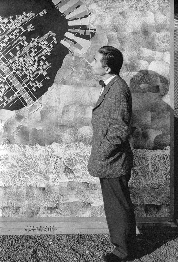 Kenzo Tange—Architect and municipal planner extraordinaire.