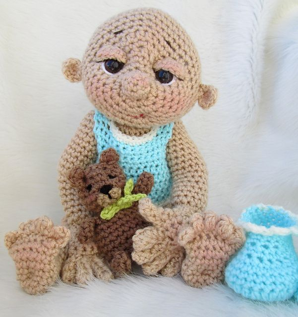 Ravelry: So Cute Baby Doll pattern by Teri Crews