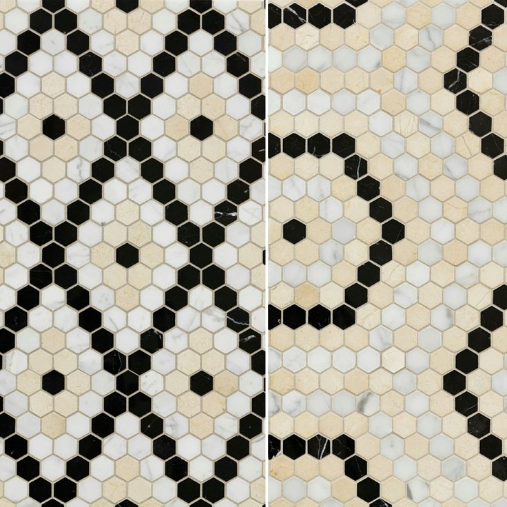 Artistic Tile I New! Our Popular 1920s New York Inspired Stone #mosaic,