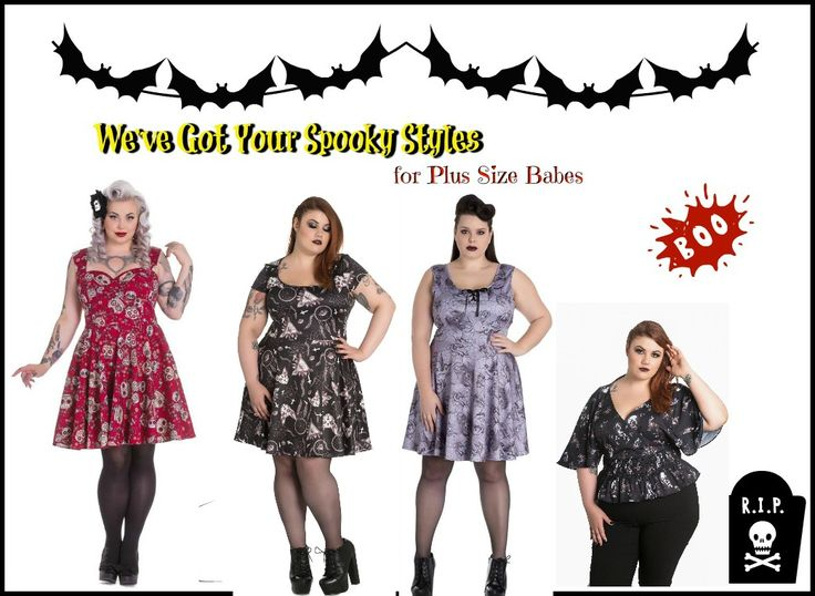 Plus Size, BBW, Curvy, Curves, BBW,  Fatshion, Full Figured, Halloween, Spooky, Goth, Punk